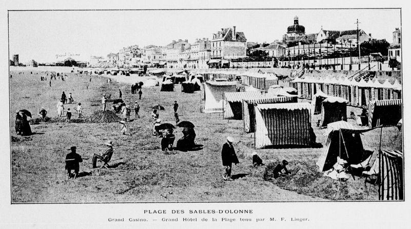 René d'Anjou, La Parisienne aux Sables, 1906